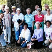 EKURA take tour of Charleston SC. Historically Dr. Dot Kirkpatrick (front row L)