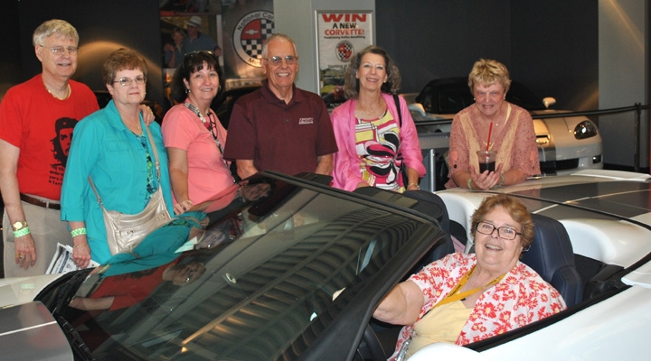 EKURA members tour Corvette Museum